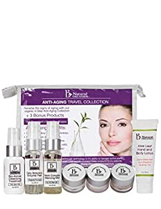 Be Natural Organics Sample/Travel Pack (Anti-aging Travel Collection)