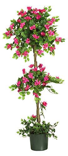 Artificial-Tree-5-Foot-Mini-Bougainvillea-Topiary-Tree