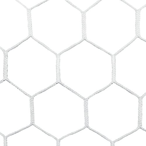 Agora 4mm HTPP Nets for 7'x21' Soccer Goals with Depth (Each) by AGORA
