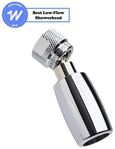 High Sierra's All Metal 1.5 GPM High Efficiency Low Flow Showerhead. Available in: Chrome, Brushed Nickel, Oil Rubbed Bronze, or Polished Brass (Best 1.5 Gpm Shower Head)