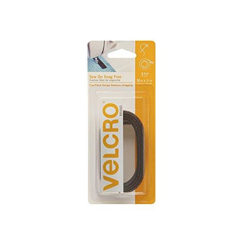 VELCRO Brand Snag Free Closure Black