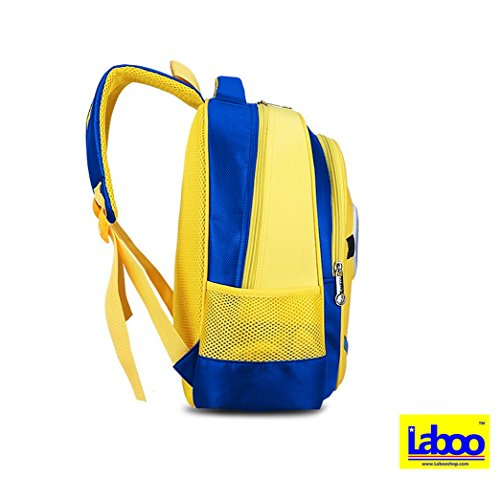 LABOO Minions Kid Backpack-3D Cartoon School Bag for Children Ages 5   Older 4345e548debb8