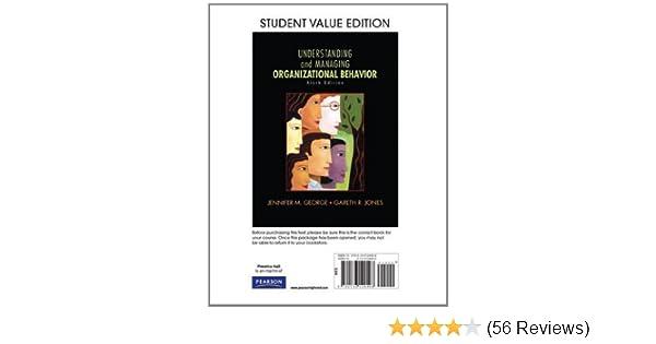 Amazon understanding and managing organizational behavior amazon understanding and managing organizational behavior student value edition 6th edition 9780136124498 jennifer m george gareth r jones fandeluxe Choice Image