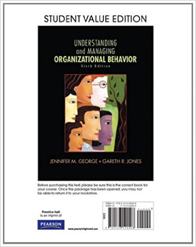 Amazon understanding and managing organizational behavior understanding and managing organizational behavior student value edition 6th edition 6th edition by jennifer m george fandeluxe Choice Image