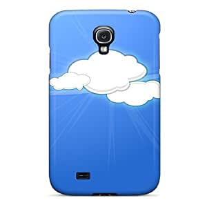 Brand New S4 Defender Case For Galaxy (abstract Clouds)