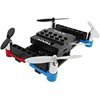 Cewaal DIY Building Blocks Motors Remote Control RC Quadcopter Drone,4-Channel 6Axis Altitude Hold Drone For Kids