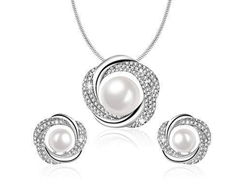 Elegant Necklace Earrings -