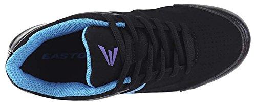 Womens Blue 360 Black Purple Softball Cleats Easton 5BZqxw7aB