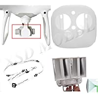XSD MOEDL DJI Phantom 4 RC Drone Parts Neck strap + Camera Lens Cover + Silicone Protective Case + Signal Booster Enhance