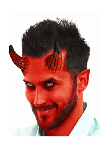 Devil In Disguise Halloween Costumes - Faux Studio Large Devil Horns Latex