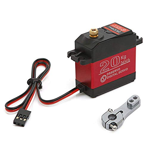 Digital Servo Motor 20KG High Torque Waterproof Metal Micro RC Servo Motor for Robot Helicopter Airplane Boat Controls(Control Angle 270)-DS3218MG