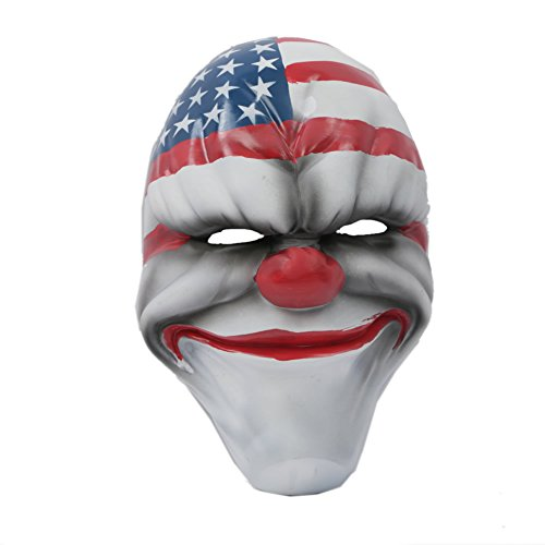 [Xcoser Payday Dallas Mask Classical Version Payday 2 Mask New Design 2014] (Chain Smoker Halloween Costume)