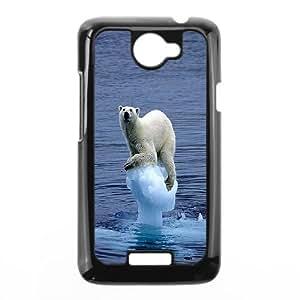 ZK-SXH - Polar Bear Brand New Durable Cover Case Cover for HTC One X, Polar Bear Cheap Case
