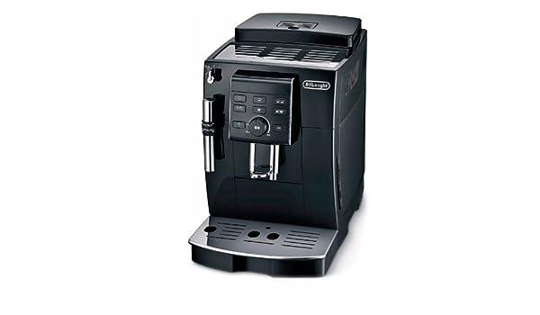 Delonghi ECAM 23.120.B - Cafetera superautomática, 1450 W, depósito agua extraíble 1.8 L, sistema capuccino, panel control personalización de cafés, ...