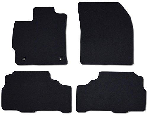 BDK FatRug Carpet Custom Floor Mats for Toyota Prius V 2011-2012 ()