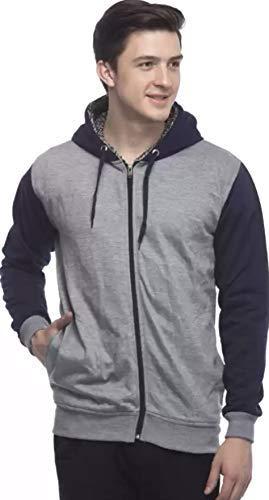 Full Sleeve Solid Men Sweatshirt  Hood