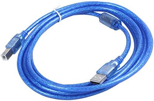 Nrpfell Azul USB 2.0 A/B Impresora Cable De Datos De Impresora ...