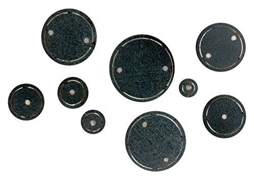 Shapers Magnetic Die - Sizzix 661508 Movers & Shapers Magnetic Die Set, Circles (9-Pack),,