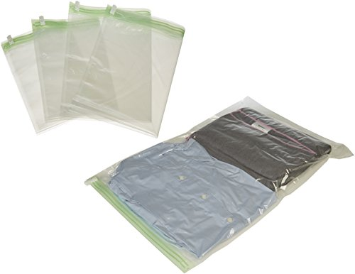 Price comparison product image AmazonBasics Travel Rolling Compression Bags, No Vacuum, 10 piece