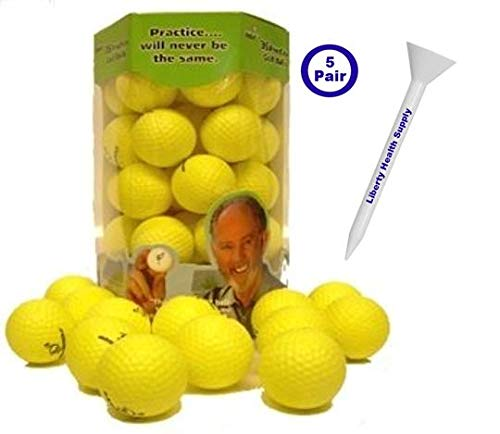 Almost Golf 36 Practice Ball Refill Pack - Yellow