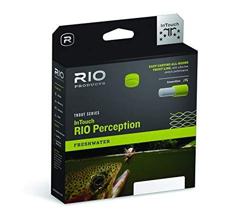 RIO Products Fly Line Rio Perception Wf5F Green, Green-Camo-Tan ()