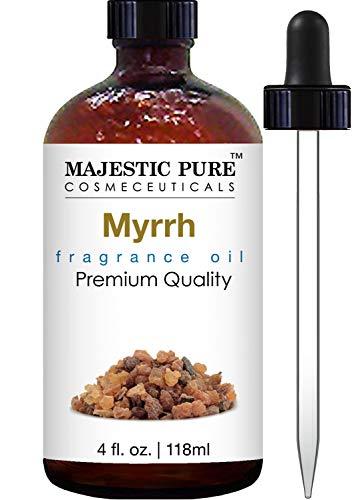 Myrrh Fragrance Oil - Majestic Pure Myrrh Oil, Premium Quality, 4 fl Oz