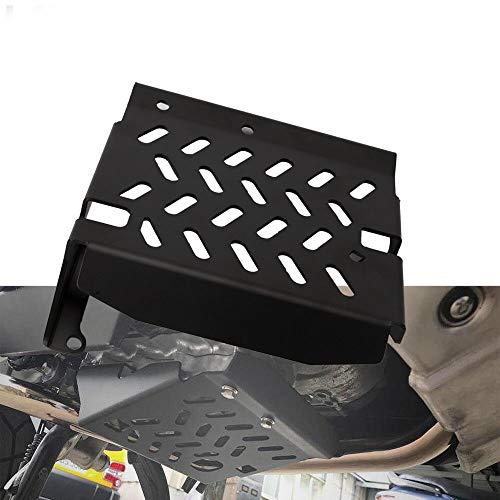 - QQJK Aluminum Alloy Motorcycle Skid Plate Motor Protection Chassis Protector Cover, for Honda X-ADV XADV 2017 2018 XADV 750