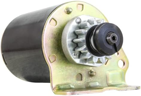 693552 OEM :Briggs /& Stratton Voltage:12 Condition:New Quality:Standard Rotation:CCW Starter Type:PMDD Number of Teeth:14 Gear OD:1.571in // 39.9mm Mtg Ear 1 Hole:8mm Unthreaded Mtg Ear 2 s New BRIGGS /& STRATTON Style Starter for 14 tooth Steel Gear 693551
