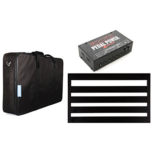 Pedaltrain NOVO 24 PEDALBOARD w/Soft Case and Voodoo Lab Pedal Power 2 Plus Power Supply