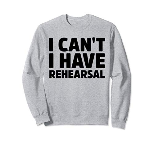 Surrealist Theatre Costumes - I Can't I Have Rehearsal Funny