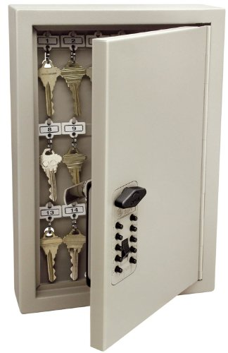 Kidde AccessPoint 001795 Combination TouchPoint Entry Key Locker, Clay, 30 Key