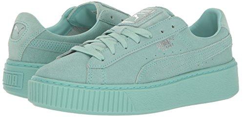 Puma Sneakers Blå Guld Platform 36222201 37 Ruskind Størrelse qav4pg