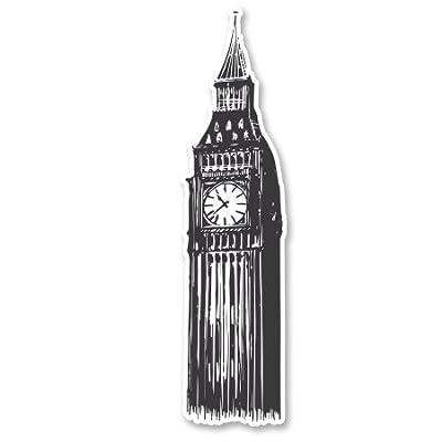 Big Ben London Travel Vinyl Sticker - SELECT SIZE