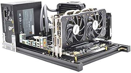 Amazon.com: ITX MATX ATX – Soporte para caja de aire abierta ...