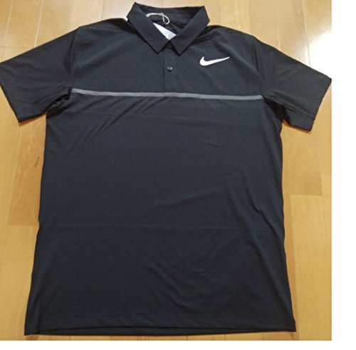熟読通り感謝しているNIKE ナイキ DRI-FIT ゴルフウェア 半袖ポロシャツ Mサイズ(163-175cm) 国内正規品 833108 ブラック