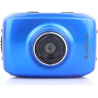Generic Digital Mini Camera Touch Screen Waterproof Blue