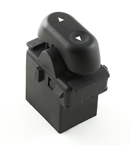 Eynpire 9604 Power Window Switch - 1-Button; Passenger Front or Rear Windows For Ford 2004 - 2008 F-150 F150; 2003 - 2008 Crown Victoria; 2003 - 2006 Expedition; 2006-2008 Lincoln Mark (Window Button)