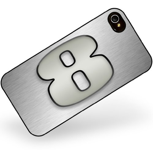 iphone 4 4s 8 number as apple gray - Neonblond