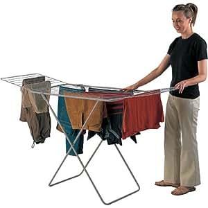 hills expanding indoor clothes drying rack clothesline home kitchen. Black Bedroom Furniture Sets. Home Design Ideas