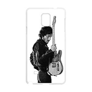 Bruce Springsteen Samsung Galaxy Note 4 Cell Phone Case White JNC743C6