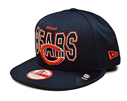bdab180f2 New Era 9fifty Nfl Chicago Bears Snapback Hat Cap 950 Outter Headwear (S M