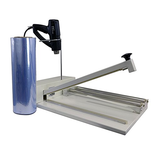 Easyway 12'' Shrink Wrap Machine Complete System - Include Heat Gun and 500 ft. Shrink Film by Easyseal