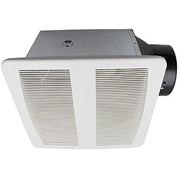 Esd Tech Quiet Bathroom Exhaust Fan With Adjustable