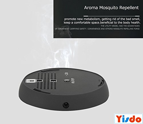 Price comparison product image Aromatherapy Essential Oils Diffuser,  New 2017 Model Portable Rechargeable Mosquito Repellent Incense Combo,  Aroma Mosquito Repellent for Bedroom,  Spa,  Baby Room,  Car,  Traveling