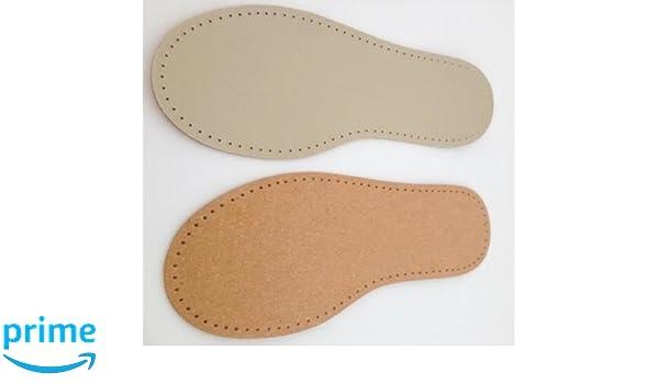 Calcetines o Fieltro Suela de Piel para Zapatos de caba/ña Talla 41 stafil