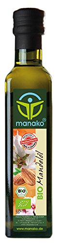 manako Bio Mandelöl, kaltgepresst, 1er Pack (1 x 250 ml)
