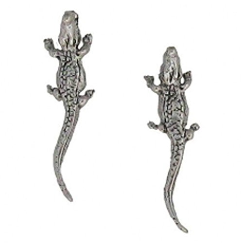 Mouth Alligator Post Stud Earrings (Alligator Enterprise Treasures)