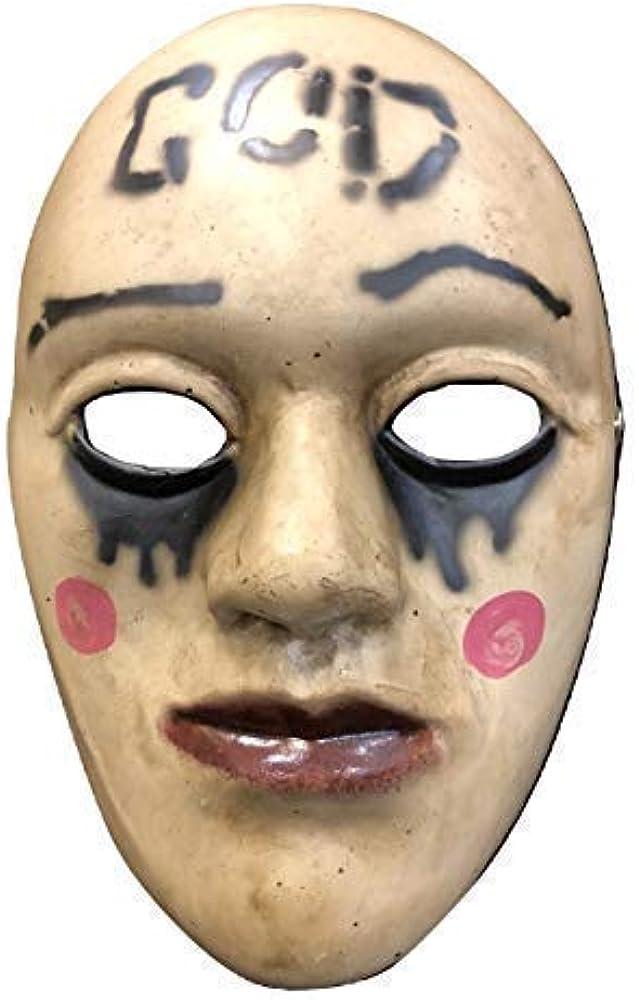Gb la Purga Dios Anarquía Original Cara de Lujo para Halloween ...