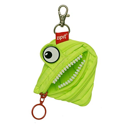 ZIPIT Monster Mini Pouch/Coin Purse, Lime ()