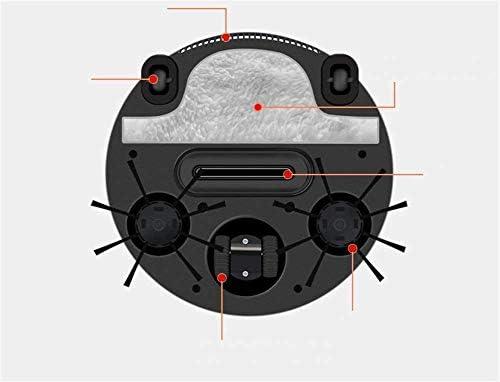 LLDKA Robot Aspirateur avec Fonction épurateurs 4-en-1 Super Silent Autonomie Collision Aspiration pour Les planchers et Les Tapis des Animaux Cheveux